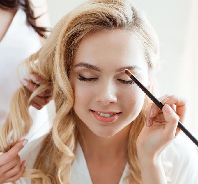 Bridal Hair And Makeup Orange Pearl Salon Spa La Crosse Wi